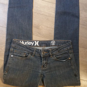 Vintage Hurley Denim Stretchy Skinny Jeans
